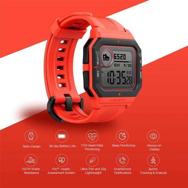 Amazfit Neo Rojo  Smartwatch