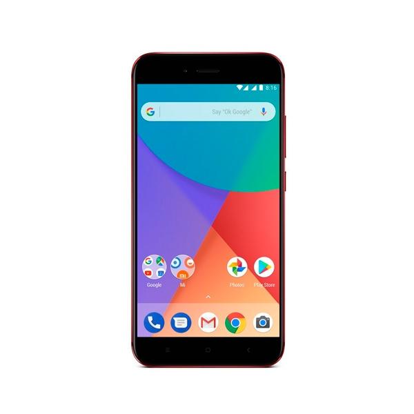 XIAOMI MI A1 55 32GB 4GB Rojo Smartphone