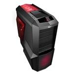 Zalman Z11 plus HF1 roja - Caja