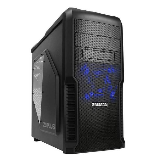 Zalman Z3 plus negra – Caja