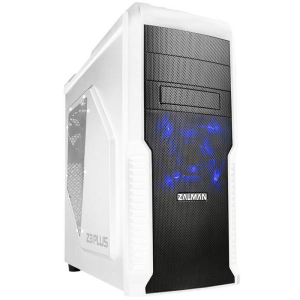 Zalman Z3 plus blanca – Caja