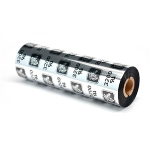 Zebra Ribbon 3200 CeraResina 110mm 12x74mts Negro  Tinta