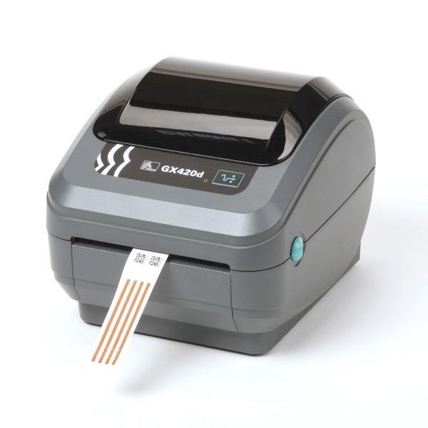 Zebra GX420d USB  Serie Impresora de etiquetas