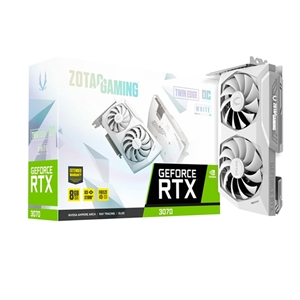 Zotac GeForce RTX3070 Twin Edge White OC 8GB GD6  Gráfica
